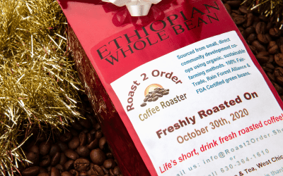 What is the shelf life of roasted coffee?