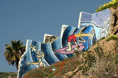 A mural near the beach - Laguna Beach, CA ... March 7, 2009 ... Photo by Rob Page III
