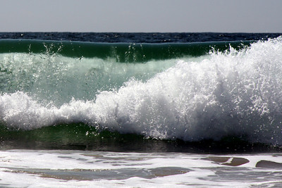 A crashing wave - Laguna Beach, CA ... March 7, 2009 ... Photo by Rob Page III