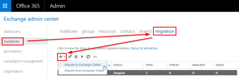 O365 Exchange PST-file Migration
