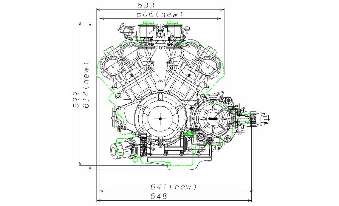 V4 Engine Vmax, V4, Free Engine Image For User Manual Download