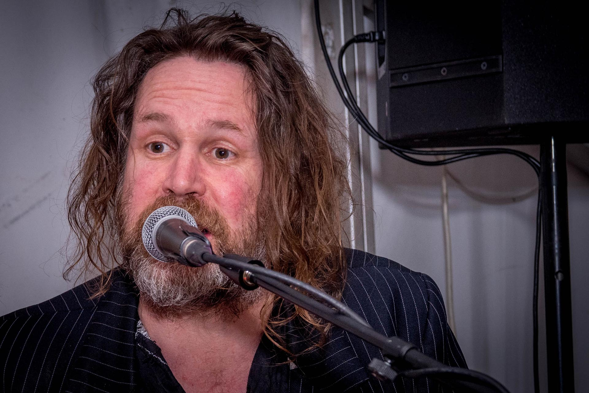 Liam Ó Maonlaí of Hothouse Flowers performs an intimate set.
