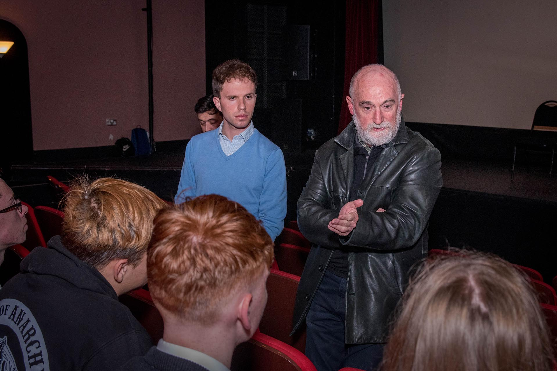 Director Gerry Gregg at the Galway Junior Film Fleadh