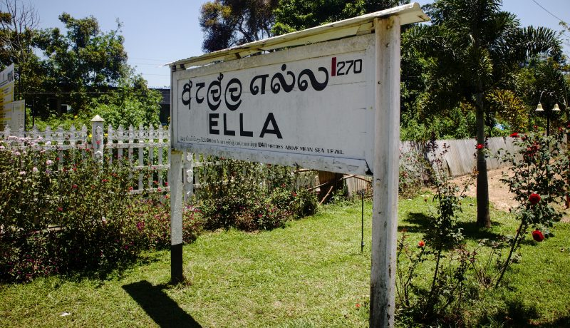 One day in Ella: train, massage, chill