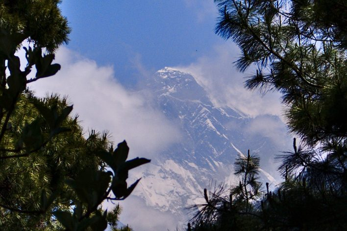 Our first sighting of Everest was so fortunate | Everest Base Camp Itinerary