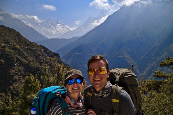 The route to EBC is ever changing, but the views are always incredible | Everest Base Camp Itinerary