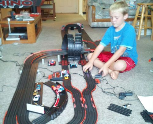 small resolution of ho slot track wiring