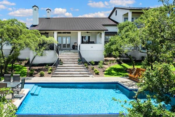Hill Country Modern Luxury - Custom Home Builder San Antonio Robare Homes