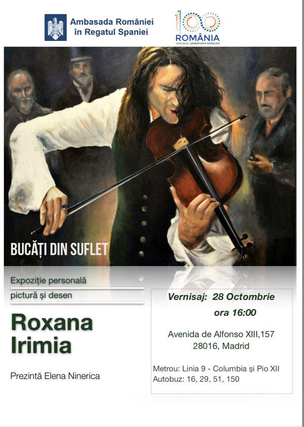 Roxana Irimia bucati de suflet