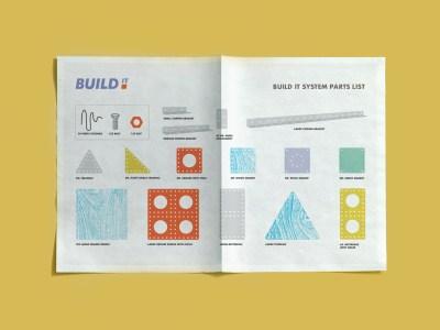 Build It Logo & Materials