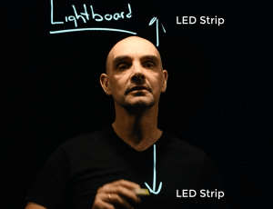 light board video