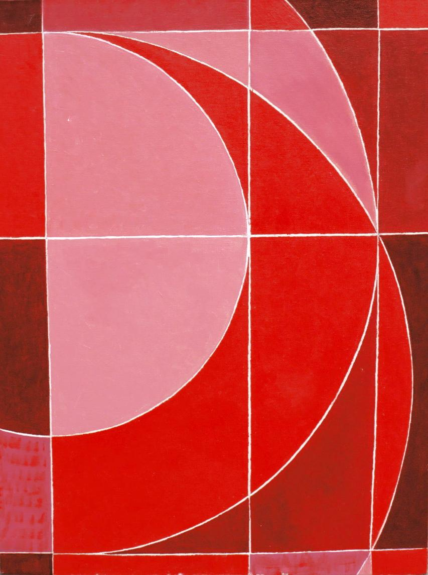 Basic I, 2003. Oil on canvas on board.