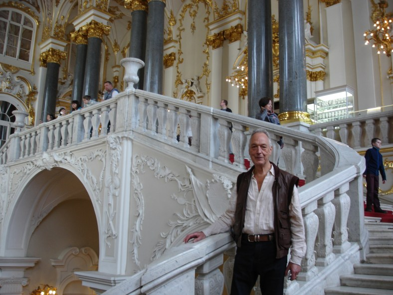 Winter Palace - RW on Staircase