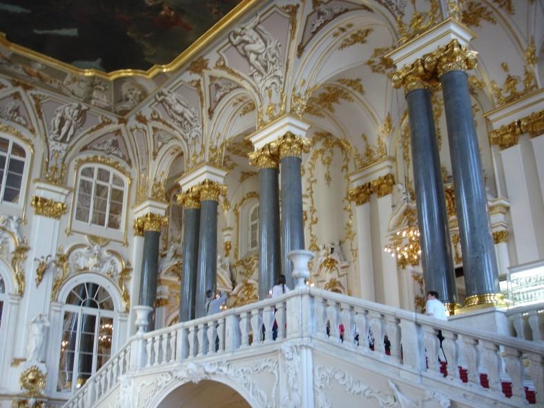 Winter Palace - Rastrelli Staircase