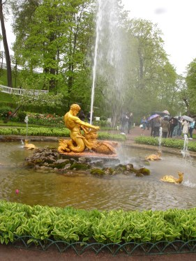 Peterhof - Neptune Fountain