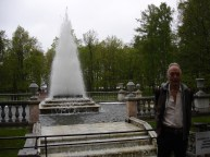 Peterhof - RW & Pyramid Fountain