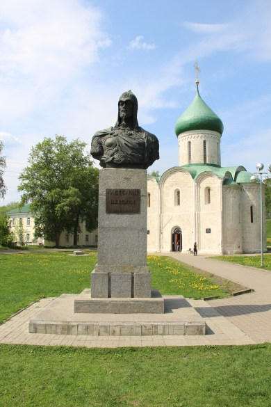 Alexander Nevsky Monument & Cathedral of The Transfiguration