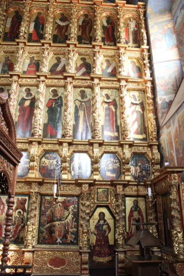 Suzdal - Cathedral of the Transfiguration - Iconostasis