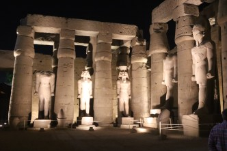 Luxor Temple at night (3)