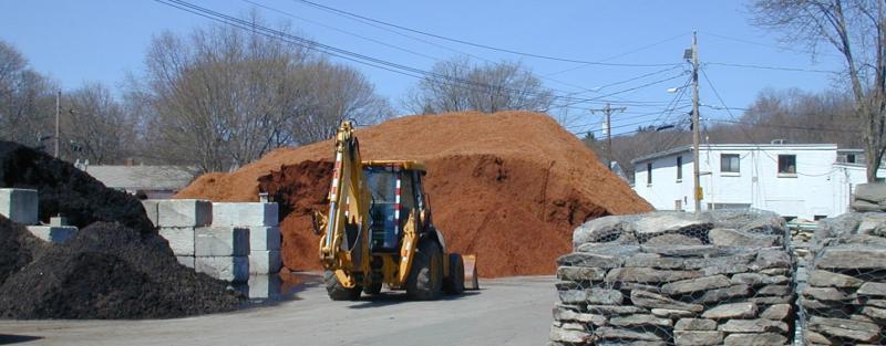 Mulch at Lalicata Landscape in Arlington, Massachusetts