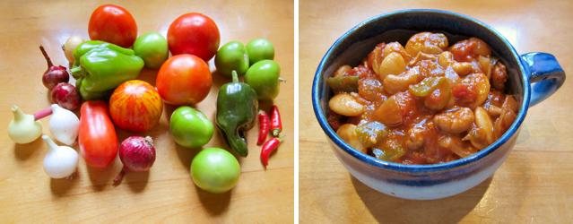 fresh from the garden chili