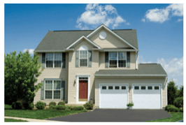 advantage series residential garage doors