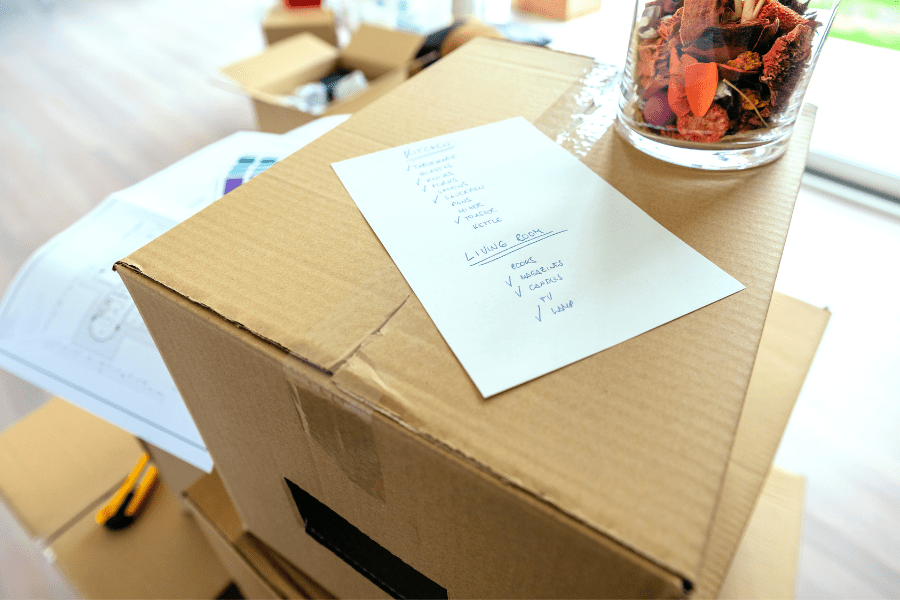All in the details – Moving Checklists