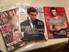 Vogue Japan 2010, Italian VF 2010, Italian VF 2009