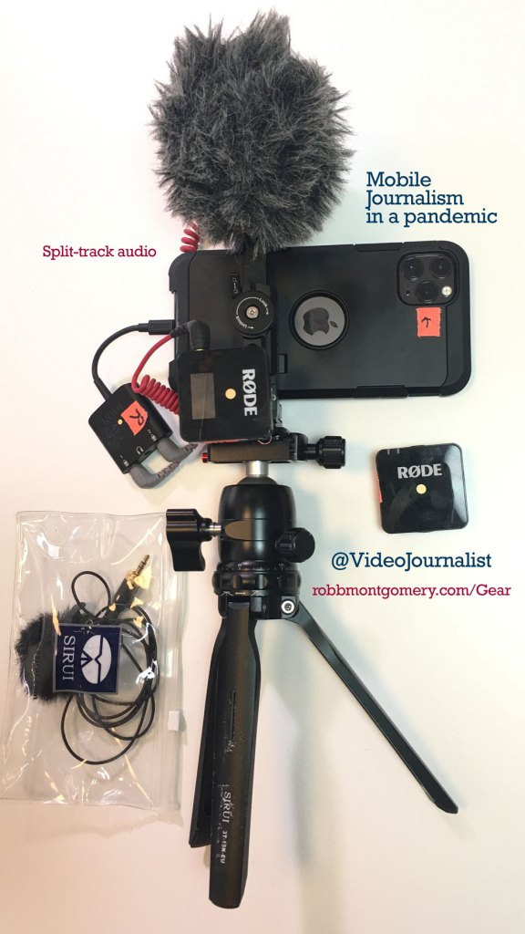 iPhone 11 pro video rig