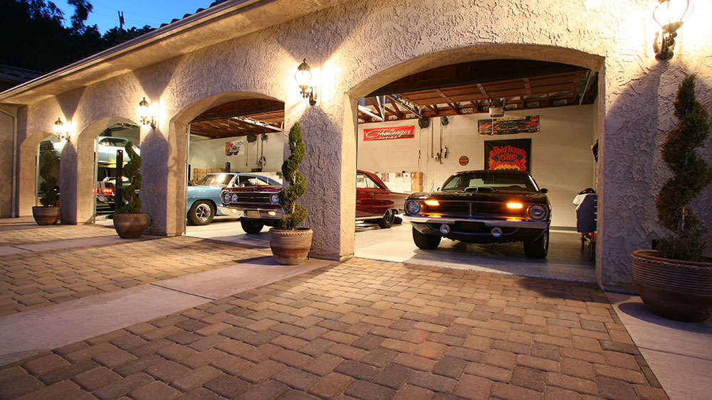 The Garage Mahal A Car Collector S Dream Home Hits The Market Robb Report