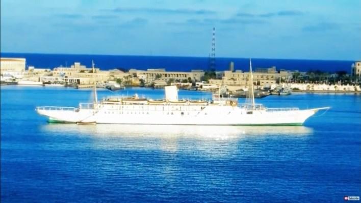 """El Mahrousa"" Yacht, Samuda Brothers"