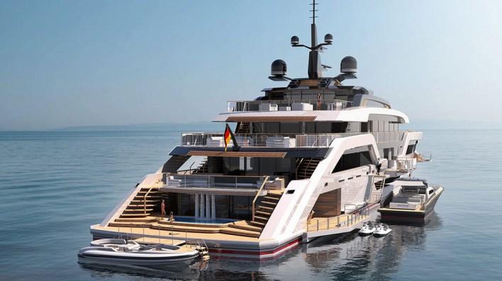 Ocean Independence's Epic 236-Foot Superyacht Has Three Huge Pools – Robb  Report