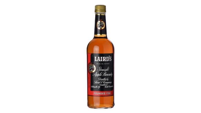 laird's apple brandy bottled in bond