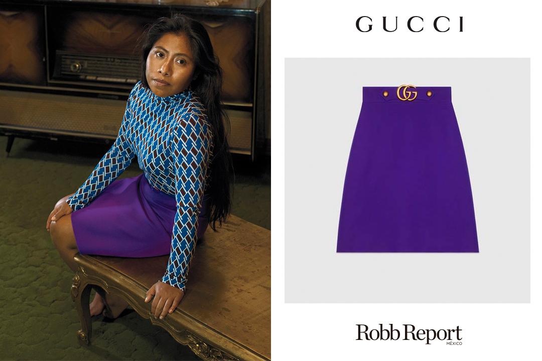 02 Gucci Marcas - Estas son las marcas favoritas de lujo de Yalitza Aparicio