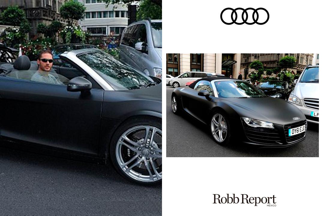 02 Tom Herdy Audi - Estas son las marcas favoritas de lujo de Tom Hardy
