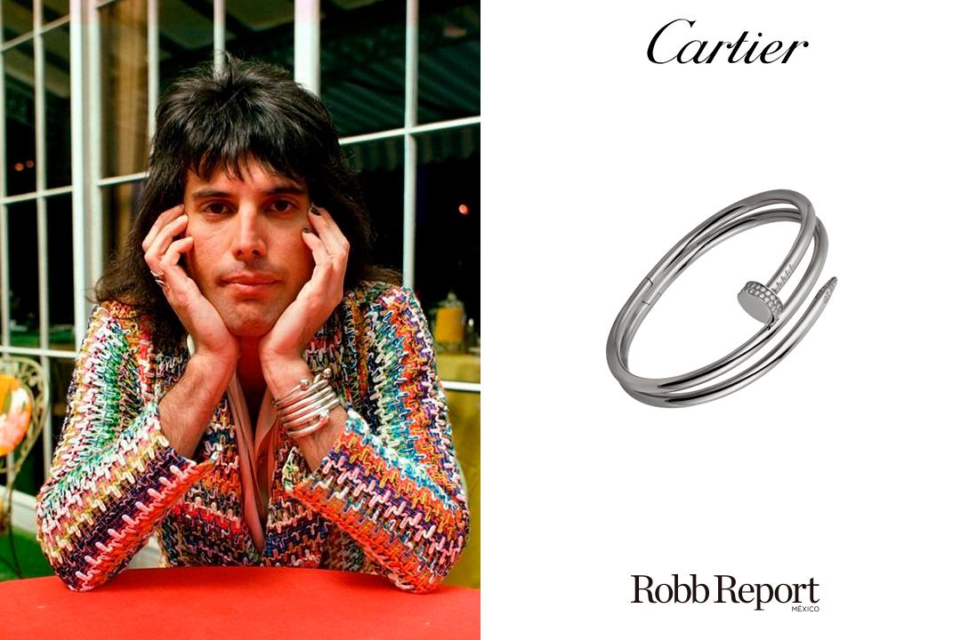 03 Cartier - Estas fueron las marcas favoritas de lujo del legendario Freddie Mercury