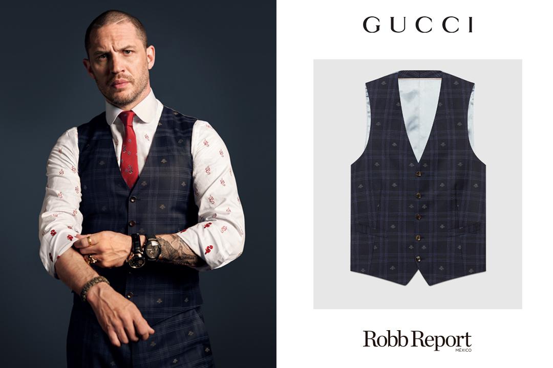 03 Gucci Tom Hardy - Estas son las marcas favoritas de lujo de Tom Hardy