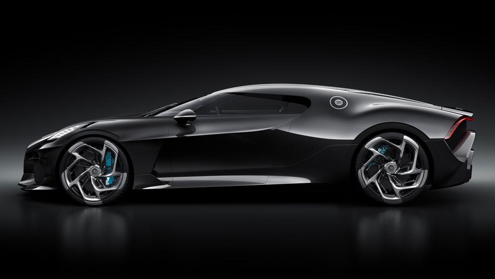 """03 lvn side - """"La Voiture Noire"""" de Bugatti, el auto de los 12.5 millones de dólares"""