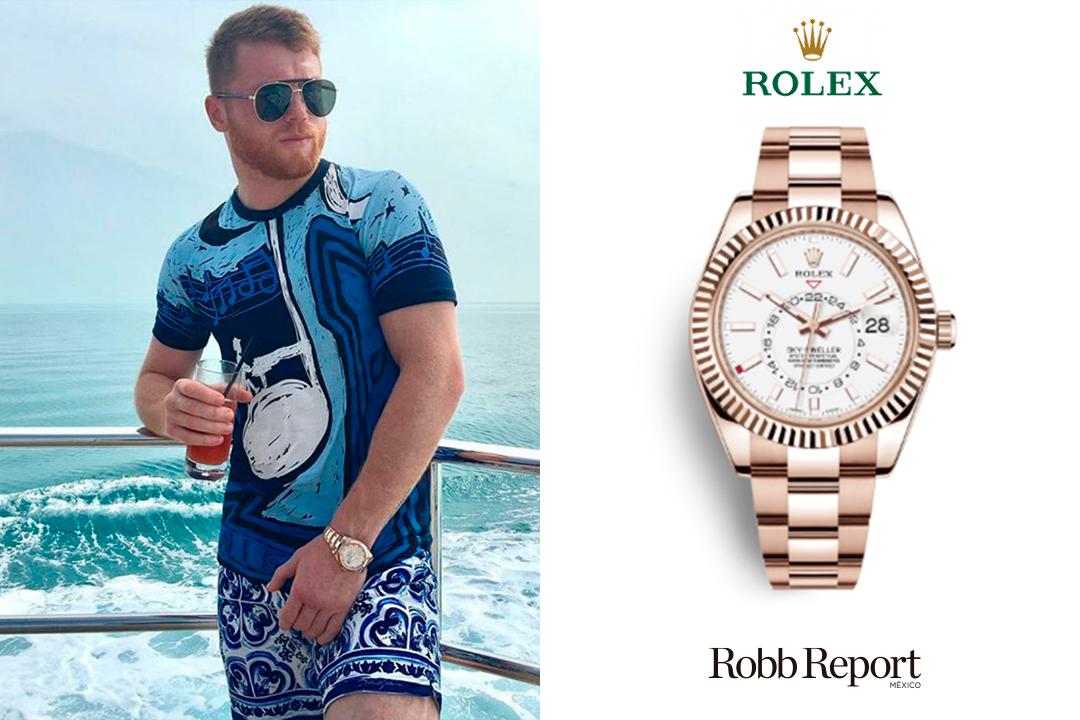 03 Rolex Canelo - Conoce los extravagantes relojes que usa Saúl Canelo Álvarez