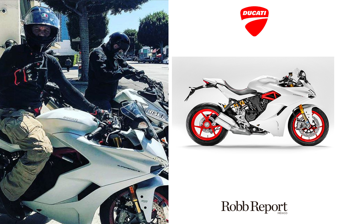 04 Ducati Tom Hardy - Estas son las marcas favoritas de lujo de Tom Hardy