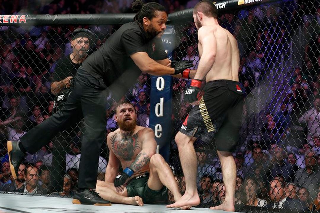 2 21 - Esta trifulca en la UFC costó medio millón de dólares