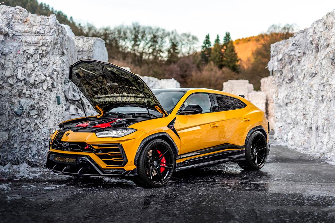 2 23 - Esta Lamborghini Urus es más potente que un Aventador SVJ