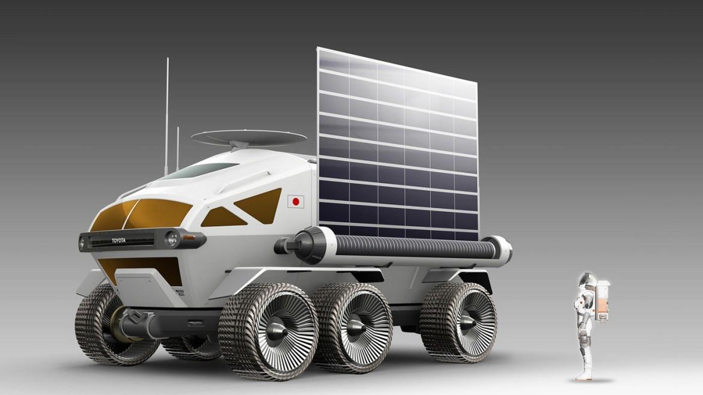 3 2 - Los astronautas llegarán en una Toyota a casi cualquier parte de la Luna