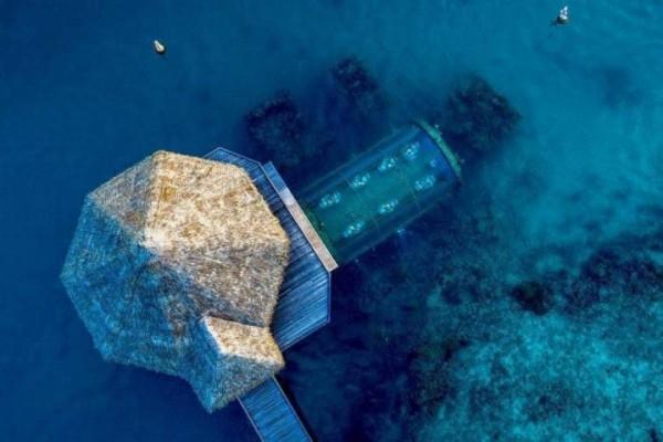 350I2yhMBTiNV - Hospédate en la primera villa submarina y duerme como pez en el agua