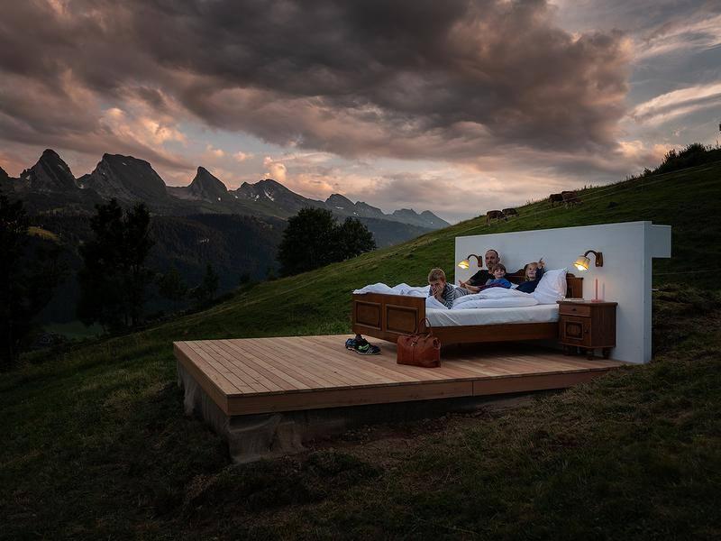 37354275 10156192135493580 7954972412280307712 n - Ni techos ni paredes, así son las exclusivas suites en los Alpes suizos