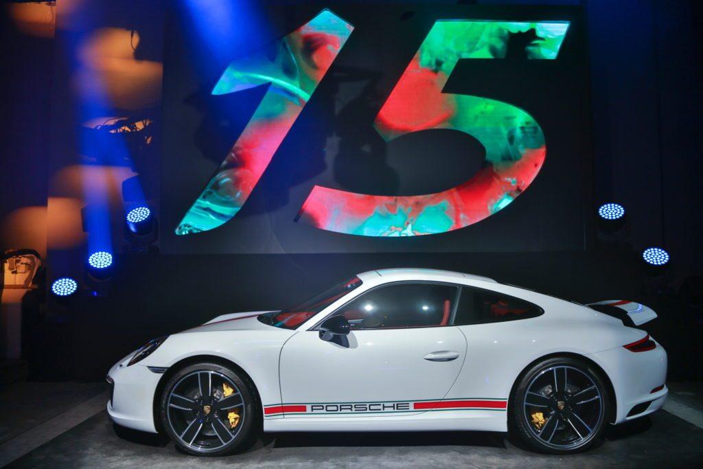Porsche celebra 15 años en México con edición especial de 911 'One of a Kind'