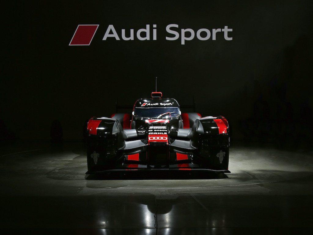 Un coche de carreras muy potente: nuevo Audi R18