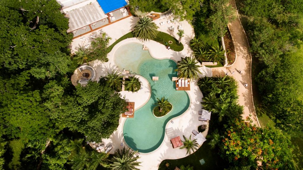 Aerial 10 1024x576 - Nuestra experiencia en el hotel más lujoso de Yucatán