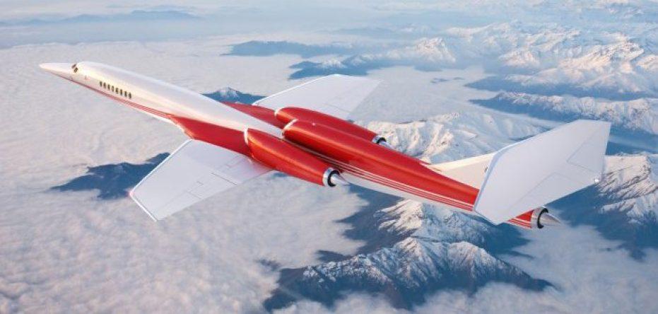 Aerion AS2 In Flight Mountains LR 700x466 700x334 - Tres aviones supersónicos que podrían conquistar el cielo