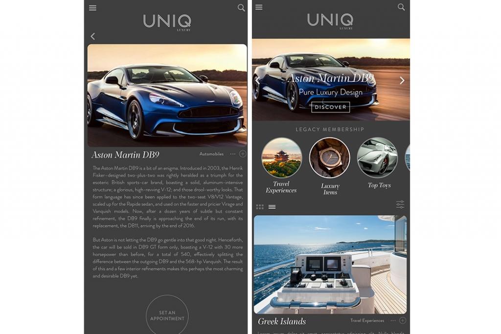 5aab2896c app2 1024x683 - Esta es la app que te permitirá comprar experiencias como  un auténtico millonario
